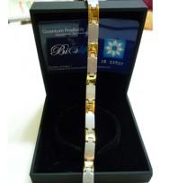 Luxury unisex 316L Stainless steel japan germanium bracelet
