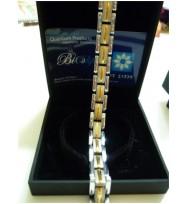 Germanium Carbide Golden color Tungsten Bracelet Health magnetic men bracelet Couple bracelet japan design